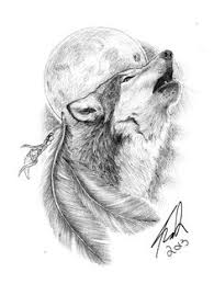 white wolf howling drawing. Modren Wolf Delectable Blackandwhite Wolf Howling On Full Moon Tattoo Design  To White Wolf Howling Drawing
