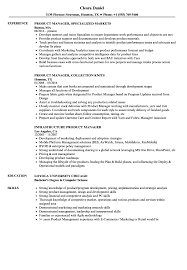Product Management Resume Product Manager Manager Resume Samples Velvet Jobs 14