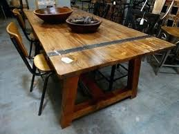 modern wood and metal furniture. Wood And Metal Dining Table Pine With Accents Furniture Store Modern Legs D