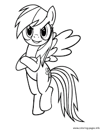 Small Picture rainbow dash pony Coloring pages Printable