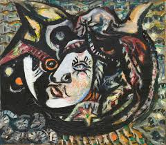 beyond drips investigating jackson pollock s many artistic phases jackson pollock mask 1941 image courtesy of moma ©