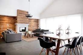Intérieur Moderne Avec Mur En Palettes