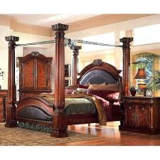 Antique Four Poster Bed Antique Canopy Bed Four Poster King 4 Post ...