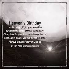 Heaven Birthday Wishes For Loved Ones Living In Heav On Images Of Interesting Heaven Quotes For Loved Ones