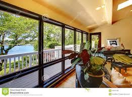 Modern Luxury Living Room Open Modern Luxury Home Interior Living Room Wth Balcony Window