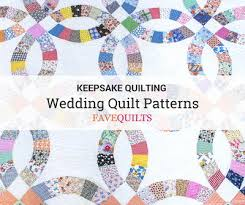 Wedding Quilt Patterns Adorable Keepsake Quilting 48 Wedding Quilt Patterns FaveQuilts