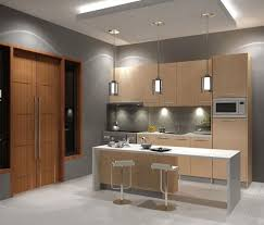 Great For Small Kitchens Adorable Modern Kitchen Cabinet With Splendid Backsplash Lighting