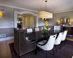 DIY Classic Wainscoting Tutorial  Faux Wainscoting Chair Rail Modern Dining Room Chair Rail