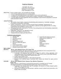 Resume Radiation Oncology Nurse Cover Letter Best Inspiration For