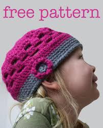 Free Crochet Hat Patterns For Kids
