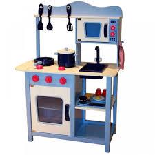 wooden kids toy pretend kitchen playset childrens role