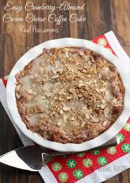 Easy Cranberry Almond Cream Cheese Coffee Cake Real Housemoms