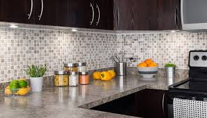 Kitchen countertop and backsplash ideas Black Granite Beautiful Modern Tile Backsplash Ideas For Kitchen Grey Seamless Granite Kitchen Countertops Brown Varnished Wood Kitchen Neographer Kitchen Beautiful Modern Tile Backsplash Ideas For Kitchen With
