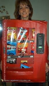 Kids Vending Machine Costume Interesting Coolest Homemade Adult And Kids Halloween Costumes