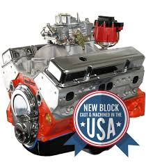 BluePrint Engines 400CI Stroker Crate Engine | Small Block GM Style |