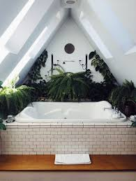 huge bathtub refinished in white in a gorgeous setting