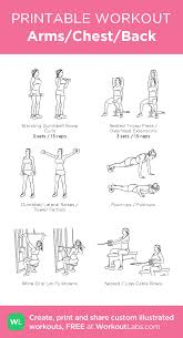 Arms Chest Back My Custom Exercise Plan Created At