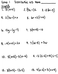 Excellent Simplifying Expressions Worksheets Ideas - Worksheet ...