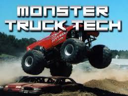 Monster Truck Tech book jacket