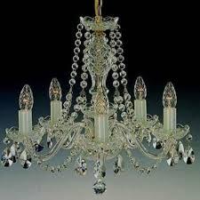 crystal chandelier 5 arms gold finish swarovski crystal l 111 5 02