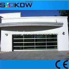 glass panel garage door anodized aluminium frame sectional glass panel garage door windows insert sectional door glass panel garage