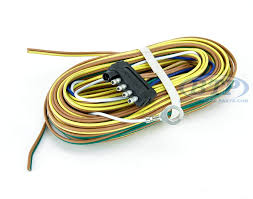 boat trailer light wiring harness 5 flat 35ft to re wire trailer Trailer Wiring Harness boat trailer light wiring harness 5 flat 35ft to re wire trailer lights and disc brakes trailer wiring harness diagram