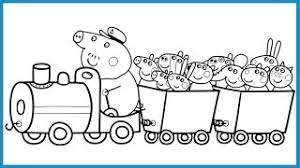 Small Picture Peppa Pig Coloring Pages Kids Fun Art Coloring Book Video For Kids