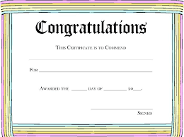 Free School Certificate Templates For Word Template First Leaving