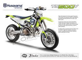 husqvarna ts500v v twin concept mock up 2 smokin passion for