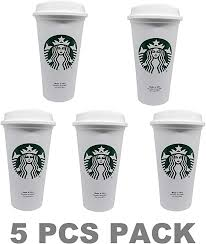 Most starbucks whole beans have extended undertones which help the flavor of the coffee stand out anymore. Amazon Com Starbucks Reusable Travel Cup To Go Coffee Cup Grande 16 Oz 5 Pack Kitchen Dining
