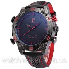 Мужские <b>часы SHARK SH261</b> LED Digital Red Date Day, цена ...