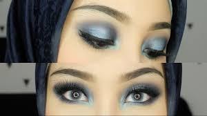 intens blue smokey eyes eyeshadow biru makeup irna dewi