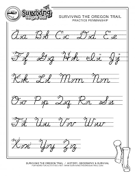 Printable cursive handwriting worksheets good practice sheets for ...