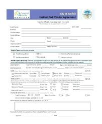 Vendor Application Template Word Free New Setup Form Registration