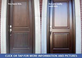 old worn weatherbeaten door fully refinished beautiful and like new