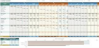 Marketing Budget Plan Content Marketing Budget Plan Template Resume Sample Doc