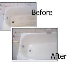 bathtub refinishing chip repair tile steam cleaning in san