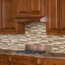 Peel And Stick Kitchen Floor Tile Backsplashes Countertops Backsplashes Kitchen The Home Depot
