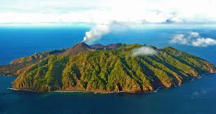 Most Popular Tourist Places : A secluded paradise in the Andaman Islands -  Barren Island