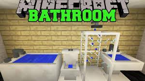 minecraft bathroom toilet shower bathtub sink more mod showcase you