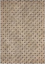 nourison deco mod dec02 black beige area rug