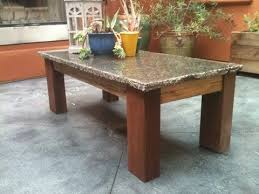 granite top coffee table granite top coffee table g75