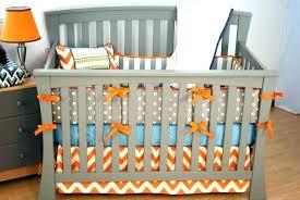 orange crib skirt orange crib skirt bedding chevron best of sweet gray purple modern uni yellow orange crib skirt
