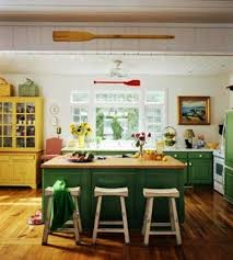 Bright colorful kitchen design ideas Island 20 Modern Kitchens Decorated In Yellow And Green Colors