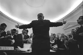 recapturing oval office. President Lyndon Johnson Speaks To The Press In Oval Office, June 17,  1965. (LBJ Library) Recapturing Oval Office