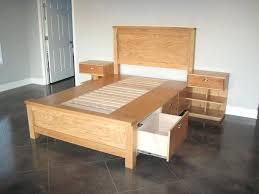 diy king platform bed with storage. Under Bed Drawers Diy Storage 8 King Platform With