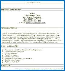 Sample Profile Resume Sample Profile For Resume Sample Profile Resume Resume Profile