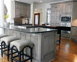 Painting Oak Kitchen Cabinets White Inspiration Gray Stained Washed Hickory Cabinets House In 48 Pinterest