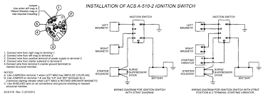 acs keyed ignition switch a 510 5 from aircraft spruce installation diagram jpg
