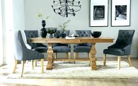 table and 8 chairs dining marble chair modern extending 10 with oak roun